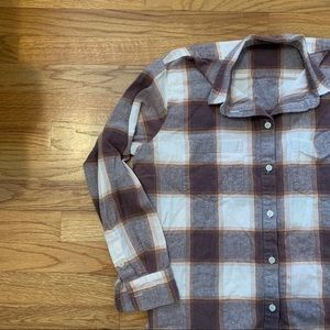 Madewell Plaid Button Down
